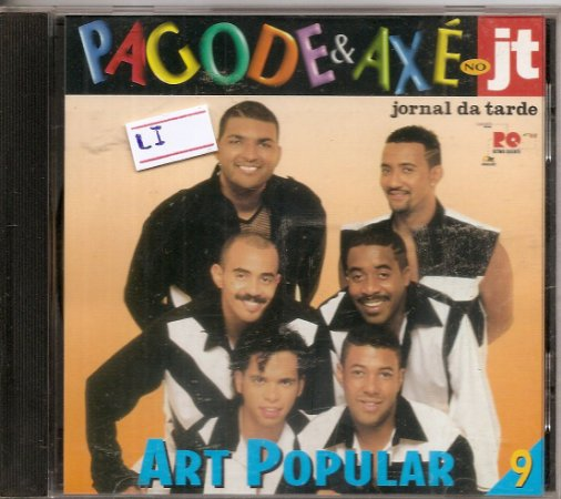 Cd Art Popular - Pagode & Axé No Jt (9)