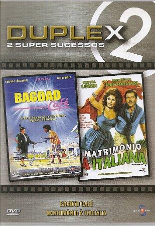 Dvd Bagdad Café (Jack Palance - Matimônio à Italiana (Sophia Loren)