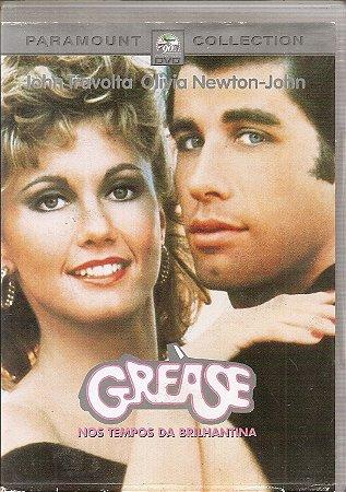 Dvd Grease Nos Tempos da Brilhantina - John Travolta, Olivia Newton John