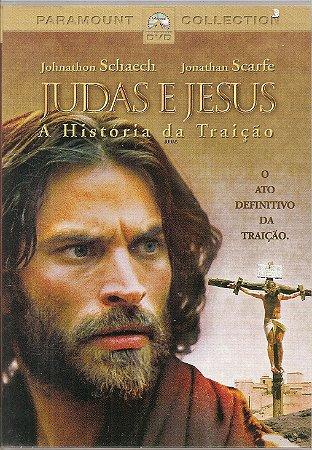 Dvd Judas e Jesus A História da Traição - Johnathon Schaech