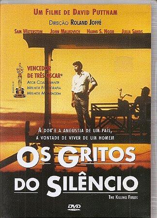 Dvd Os Gritos do Silêncio - Sam Waterston, John Malkovich, Haing S. Ngor