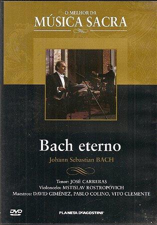 Dvd José Carreras - O Melhor da Música Clássica Bach Eterno
