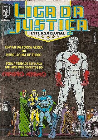 Hq Liga da Justiça Internacional Nº 26 - Confisco