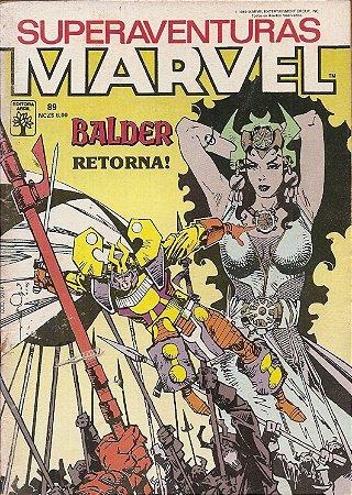 Hq Superaventuras Marvel Nº 89 - O Poderoso Thor: A Espada de Frey