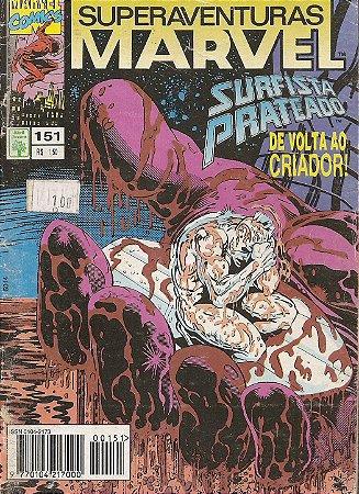 Hq Superaventuras Marvel Nº 151 - Face a Face Com o Criador