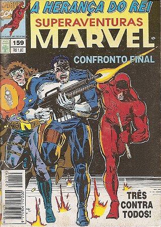 Hq Superaventuras Marvel Nº 159 - Herança do Rei: Adeus Las Vegas