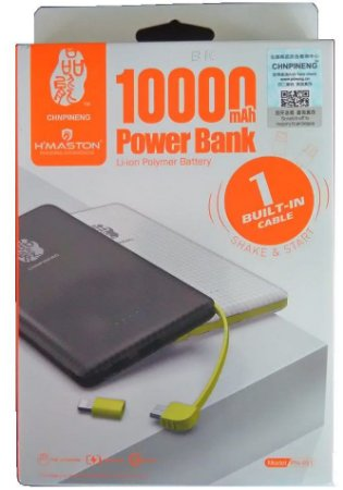 Bateria Externa Power Bank Pineng 10000mah Pn-951