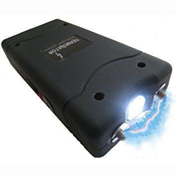 Aparelho de Choque Lanterna 801 Type Mini 5000w Recarregável