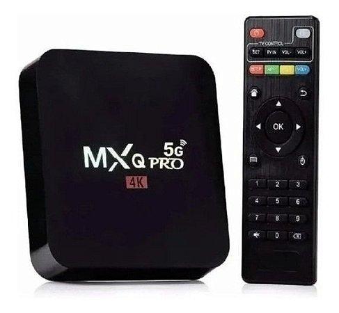 Tv Box Smart MXQ PRO 4k Wifi 5G Android 9.0