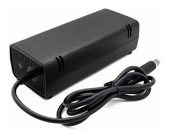 Fonte Xbox 360 Super Slim 120w Bivolt 110/220v 1 pino