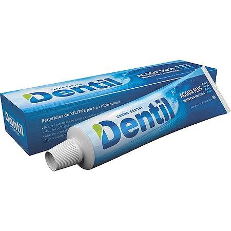 Creme Dental Dentil Acqua Plus Menta c/ Xilitol 90grs