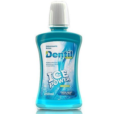 Enxaguante Bucal Dentil Ice Power c/ Xilitol 250ml