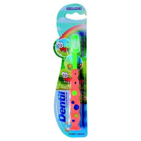 Escova Dental Dentil Kids Centopeia Extra Macia
