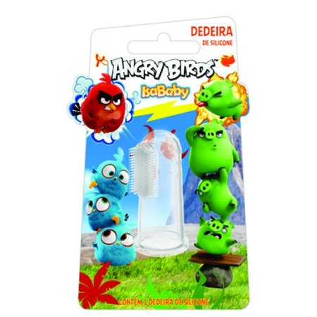 Dedeira de Silicone Dentil Angry Birds