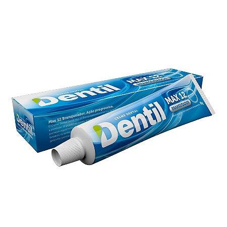 Creme Dental Dentil Max 12 Branqueador 90g