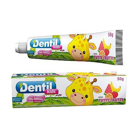 Gel Dental Dentil Kids Zoo Tutti-Frutti 50g
