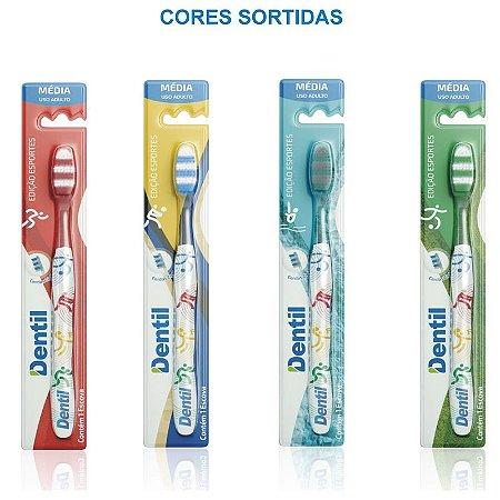 Escova Dental Dentil Sport Média