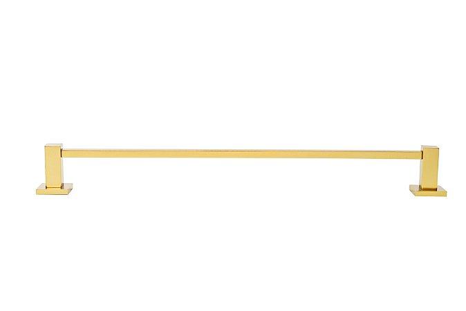 Toalheiro 30cm com Roseta - Dourado