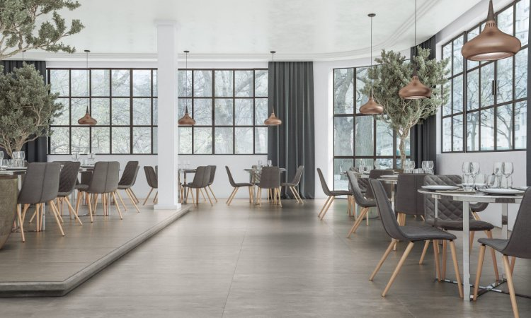 Porcelanato Acetinado Exclusive Gris Plus (83×83)