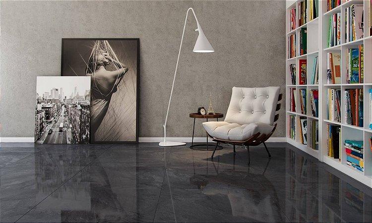 Porcelanato Mármore Polido Esmaltado Exclusive Marmor Tenebris Lux (82×82)