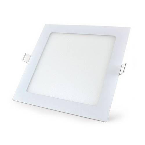 Plafon Led Embutir 25W quadrada branco quente