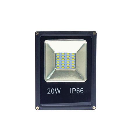 Refletor Led 20W Holofote Microchip SMD