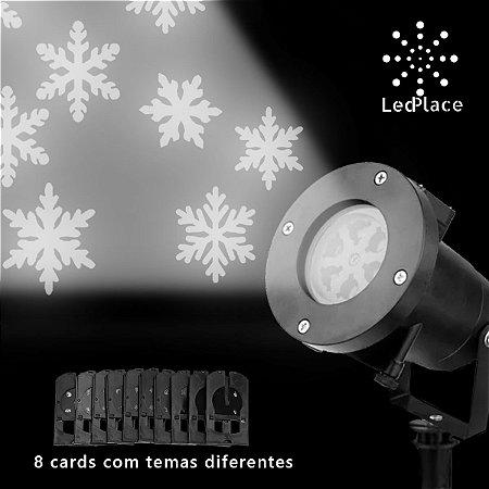 Projetor Led Frozen flocos de neve