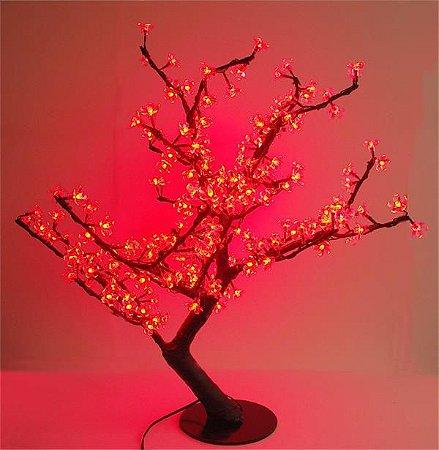 Árvore de Natal cerejeira Led vermelha 110V