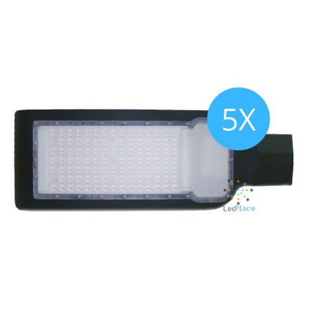 Kit 5 Luminária Publica Led Smd 150W Street Light