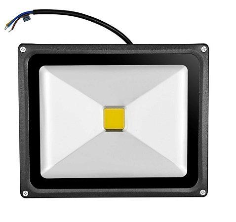 Refletor Led 30W Holofote Microchip COB