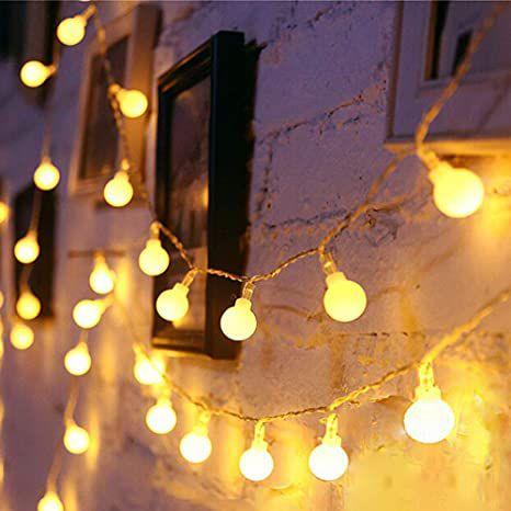 Luminária Led Varal de Luz 100 Bolinhas Led Decoração Eventos Casamento