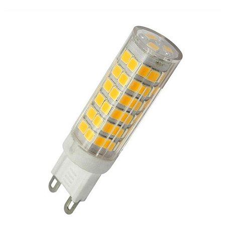 Lâmpada Led Luz Forte G9 Branco Quente 10w P/ Arandelas E Lustres