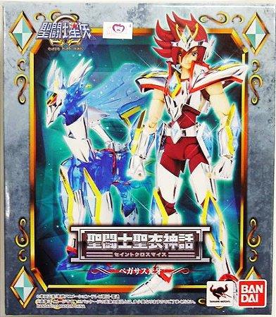 Cavaleiro Zodiaco Kouga de Pegasus Ômega Cloth Myth Bandai Novo