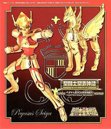CAVALEIROS ZODIACOS SEIYA V1 GOLD DOURADO 1.0 CLOTH MYTH  BANDAI (USADO)