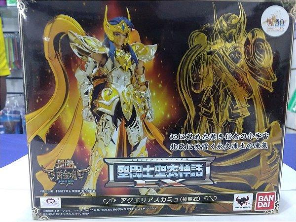 Cavaleiro Zodiaco Camus de Aquario Ex Sog V4 Cloth Myth Soul of Gold ( Usado)