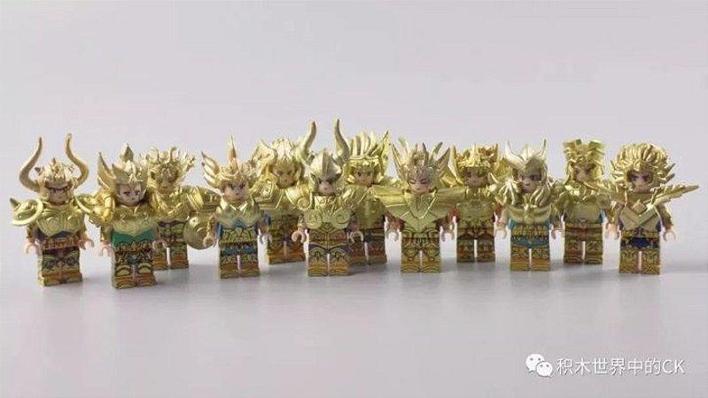 Legos Cloth Myth Cavaleiros Zodiaco Saint Seiya 12 peças Frete Incluso ( Replica )