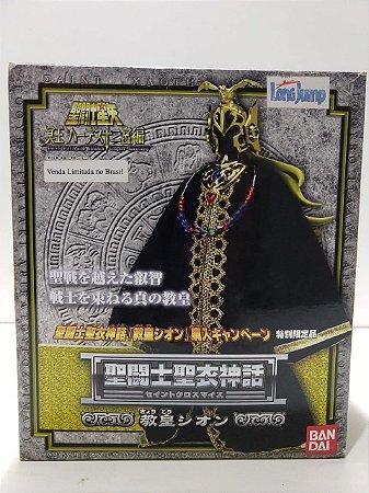 Cavaleiros Zodiacos Cloth Myh  Grande Mestre Pope Shion Bandai 1.0  ( usado )