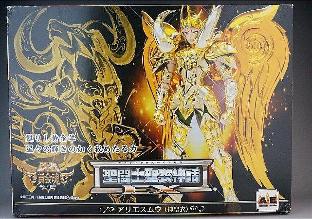 Cavaleiro Zodiaco Mú de Áries Ex Sog V4 Cloth Myth Soul of Gold Athena Exclamation (USADO )