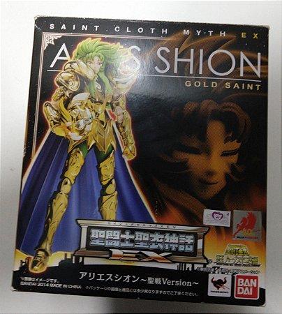 Cavaleiros Zodíacos Shion de Áries EX Bandai cloth Myth