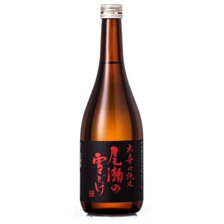 Sake Oze No Yukidoke Okarakuchi Junmai (Extra Dry) 720ml