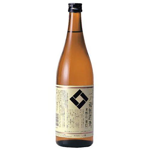 Sake Ichinokura Mukansa Honjozo Karakuchi 720ml