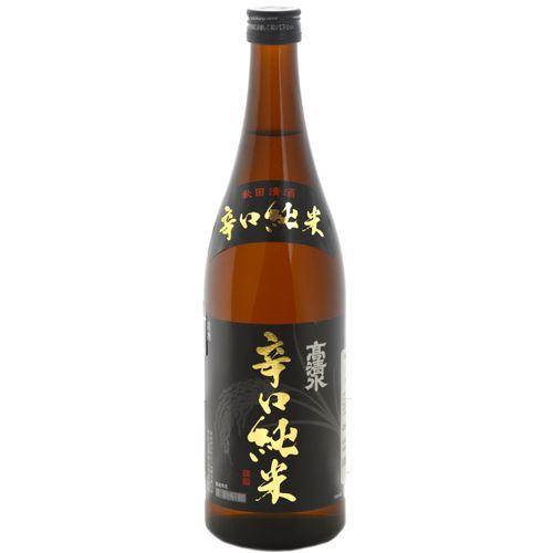 Sake Takashimizu Karakuchi Junmai 720ml