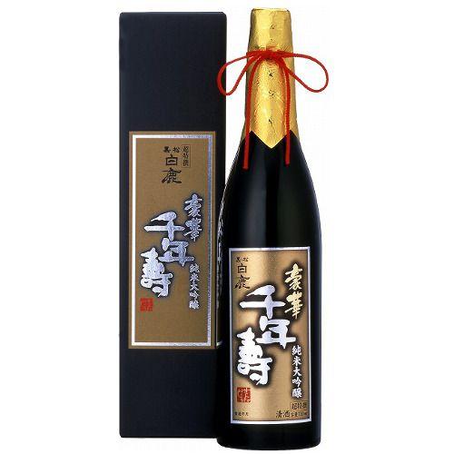 Sake Hakushika Kuromatsu Goka Senneju Cho Tokusen Junmai Daiginjo 720ml
