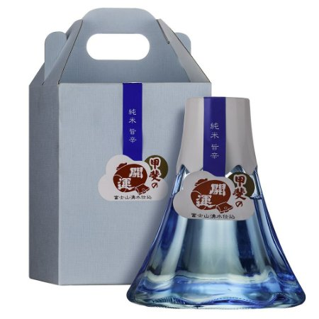 Sake Ide Mount Fuji Shaped Bottle Fujinobin Junmai 360ml