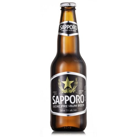Cerveja Premium Sapporo Long Neck 341ml
