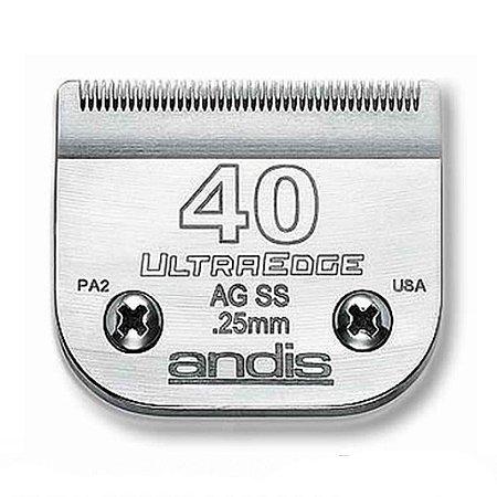 Lâmina Para Maquina De Tosa 40 Andis