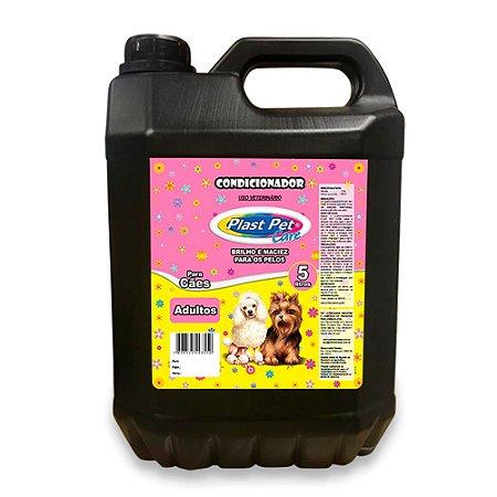 Condicionador Para Cães Adultos Plast Pet 5L