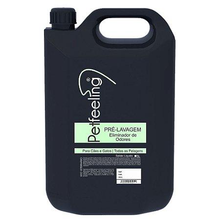 Shampoo Pré-Lavagem Pet 5L Eliminador de Odores Petfeeling