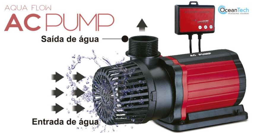 Bomba Submersa Eletrônica Ocean Tech 110vts 6000l/h-show