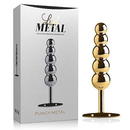 Plug Lust Metal Ball's - Metal Gold (LM025)